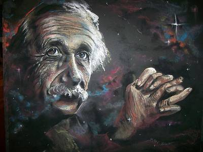 Poster featuring the pastel Color My Universe by Peter Suhocke