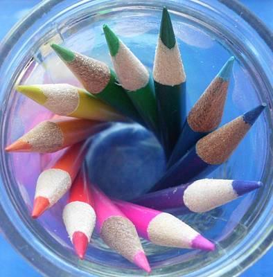 Color Wheel Poster by Elizabeth Sullivan