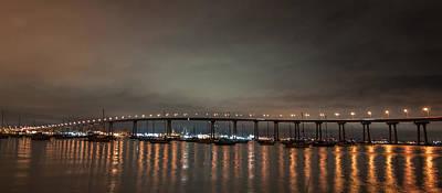 Coronado Bridge San Diego Poster by Gandz Photography