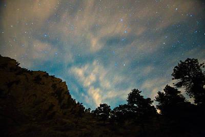 Colorado Canyon Star Gazing  Poster