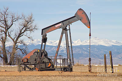 Colorado Front Range Oil Well Pump Poster by James BO  Insogna