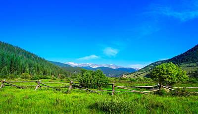 Colorado Mountains Poster by Mark Andrew Thomas