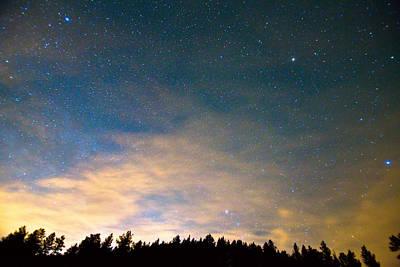 Colorado Night Sky Poster