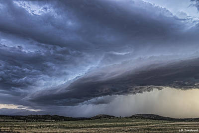 Colorado Shelf Cloud Poster