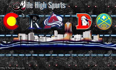 Colorado Sports Poster