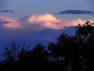 Colorado Storm Clouds Poster