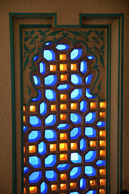 Colored Glass Window, City Palace Poster