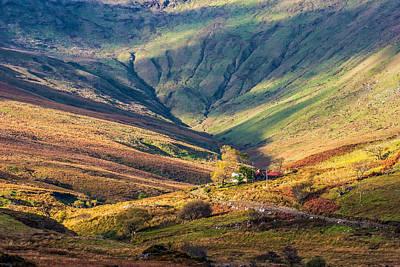 Colorful Connemara Landscape In Ireland Poster