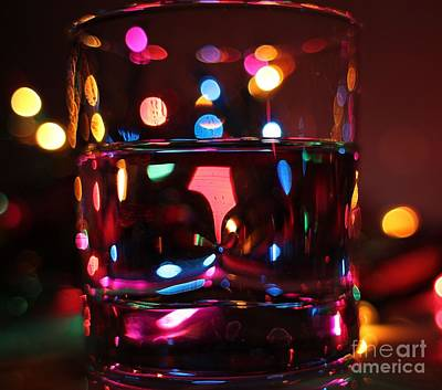 Colorful Glass Bokeh Poster by Jimmy Ostgard