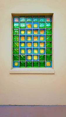 Colorful Savannah Window Poster