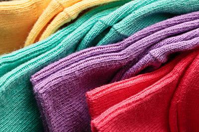Colorful Socks Poster
