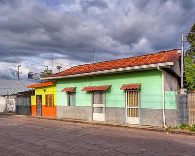 Colorful Streets Of Costa Rica - Liberia Poster