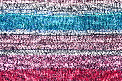 Colorful Textile Poster