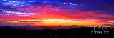 Colorific Sunset Poster