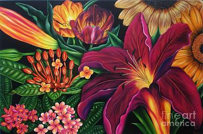 Colors Garden Poster by Paula Ludovino