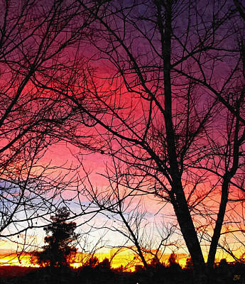 Colors Of Dusk Poster by Glenn McCarthy Art and Photography