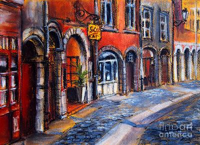 Colors Of Lyon 2 Poster by Mona Edulesco