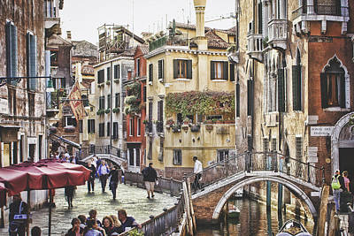 Colors Of Venice Poster by Aalis Rashdi