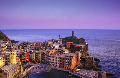 Colors Of Vernazza Poster