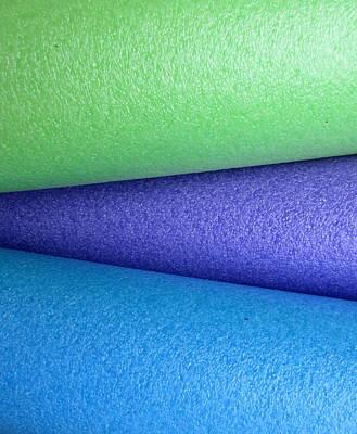 Colorscape Tubes B Poster
