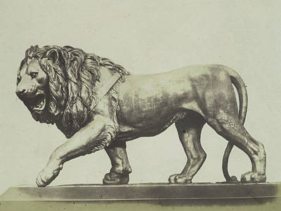 Colossal Bronze Lion. Miller Poster by Artokoloro