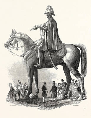 Colossal Statue Of The Duke Of Wellington Poster