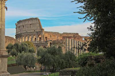 Colosseum Afar Poster
