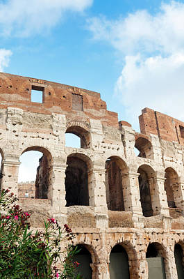 Colosseum Or Flavian Amphitheatre Poster