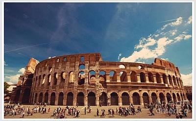 Colosseum Rome Poster