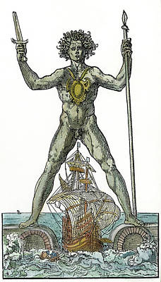 Colossus Solis Of Rhodes Poster by Granger