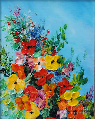 Colour Of Spring Poster by Teresa Wegrzyn