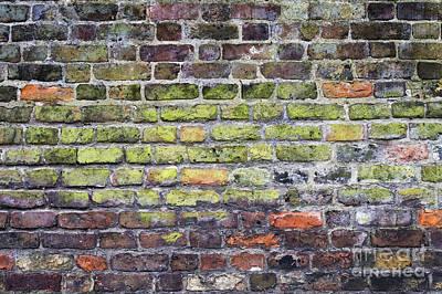Colourful London Bricks Poster
