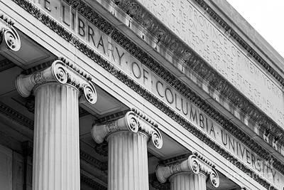 Columbia University Low Memorial Library Poster