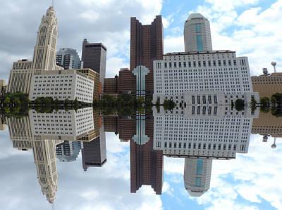 Columbus Reflection Poster