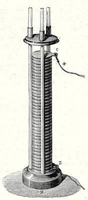 Column Battery Poster