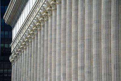 Columns Poster by John Schneider