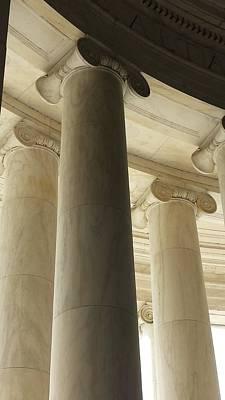 Columns Stand Guard Poster