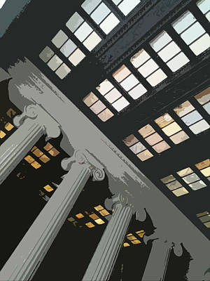 Columns Poster by Julio Lopez