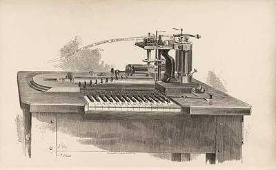 Combined Printer-telegraph Poster