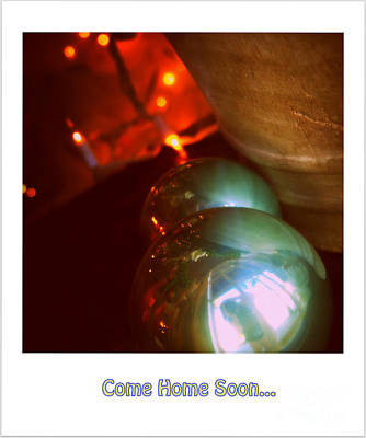 Come Home Soon... Poster by Susanne Van Hulst