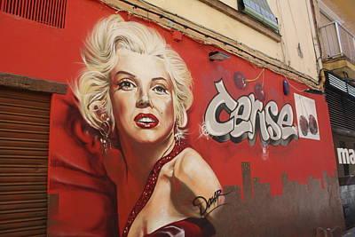 comercial grafity Malaga Poster