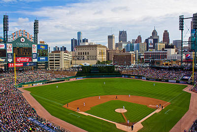 Comerica Park Poster by John McGraw