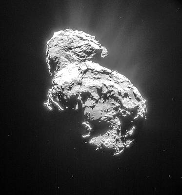 Comet 67pchuryumov-gerasimenko Poster by Science Source