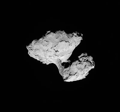 Comet Churyumov-gerasimenko Poster by Science Source
