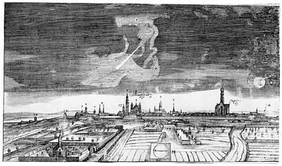 Comet Of 1665 Poster