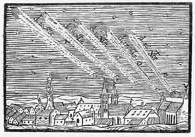 Comet Of 1680 Poster