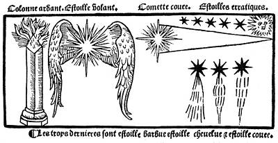 Comets, 1496 Poster by Granger