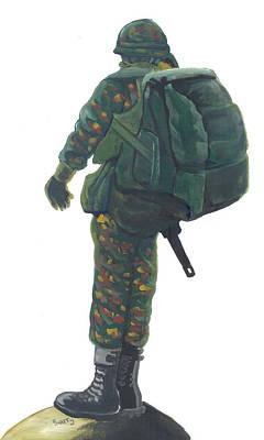 Commando 02 Poster by Emmanuel Baliyanga