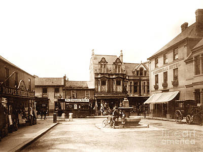 Commercial Square Camborne England Poster
