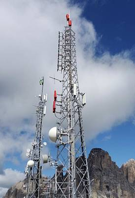 Communications Masts Poster